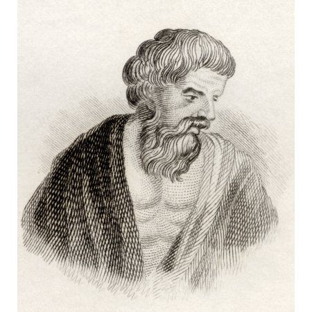 Aristomachus Greek Mythological Character One Of The Heracleidae Great-Grandson Of Heracles From The Book Crabbes Historical Dictionary Published 1825 Canvas Art - Ken Welsh Design Pics (26 x 30)