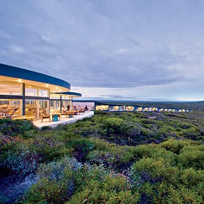 Southern Ocean Lodge on Kangaroo Island, Australia; coastalliving.com