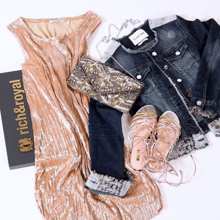 Kaum ist die Sonne wieder da, steigt auch gleich unsere Laune. Lusst auf einen Mädelsabend? Wir haben direkt einen passenden Outfitvorschlag für Euch. Die passenden Schuhe dazu findet Ihr online auf schuhe.de
