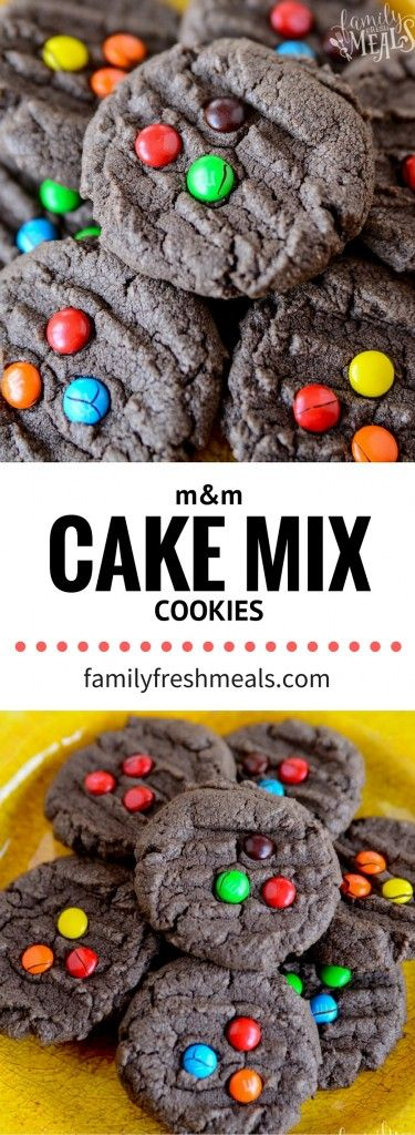 M&M Chocolate Cake Mix Cookies - YUMMY RECIPE - FamilyFreshMeals.com.png