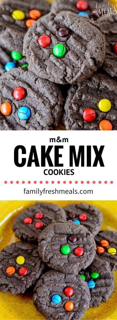 M&M Chocolate Cake Mix Cookies - YUMMY RECIPE - FamilyFreshMeals.com.png
