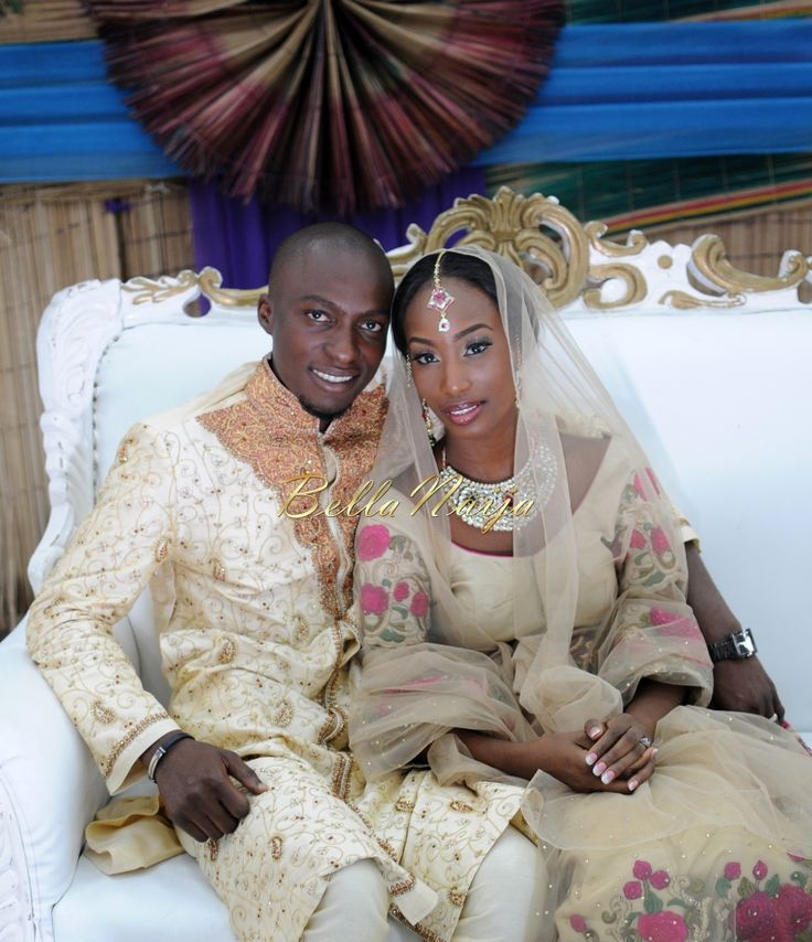 Nigerian Muslim Wedding Bollywood Nikkah BellaNaijaTAP