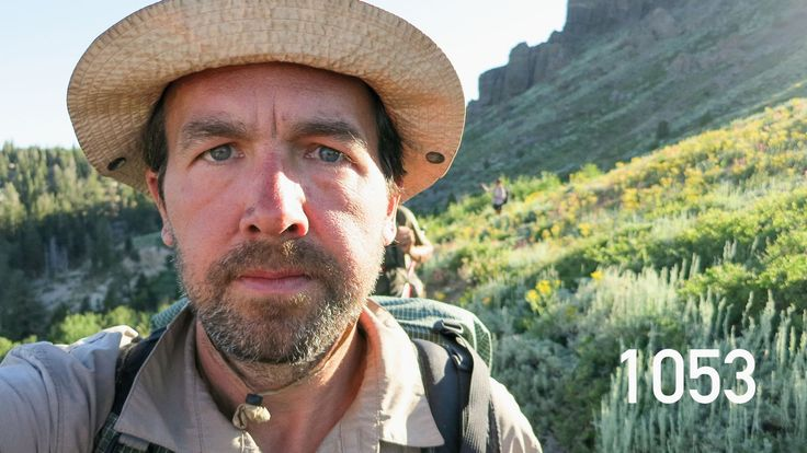 Nifty. This guy took a selfie at each mile along his PCT journey.  2600 MILES IN 4 MINUTES: Time-lapse of my Pacific Crest Trail hike (In t...