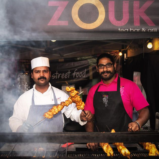 Another from #YorkFoodFestival Zoak Tea Bar and Grill #food #foodie #kebab #chicken #takeaway #grill