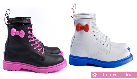 Dr. Martens Hello Kitty schoenen wow how cool are these :)