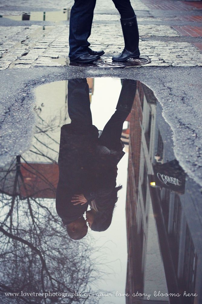 Lovely photography idea - reflection kiss! You must capture the day! Register today w K Catering www.savvybyyou.org