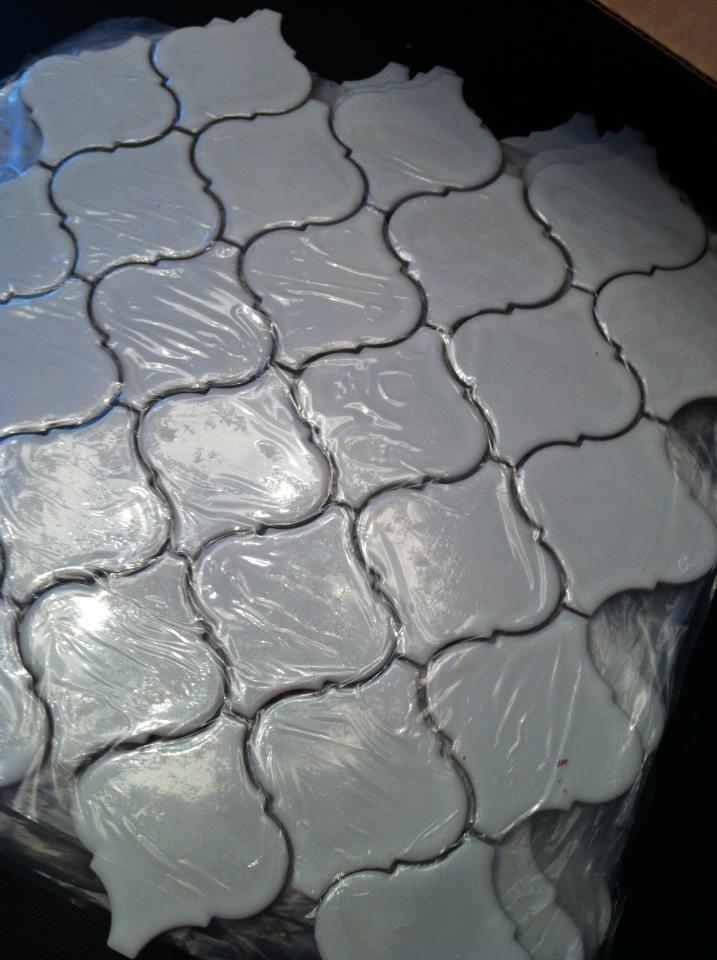 Moraccan tile - guest bathroom