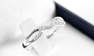Groupon - Anillo de compromiso modelo Amoris con 13 diamantes. Con retiro en Qtregalo en Qtregalo. Precio de la oferta Groupon: $424.990