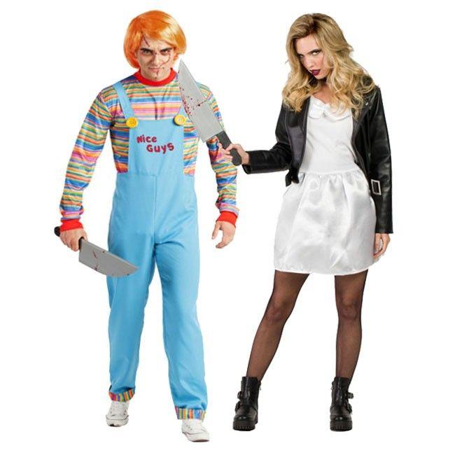 Achetez Déguisements Chucky et Tiffany les Poupées de Sang #déguisementscouples #nouveauté2017