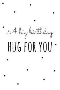 Image result for birthday hug images