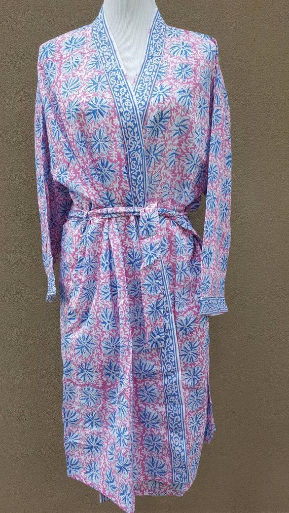 Check out this item in my Etsy shop https://www.etsy.com/au/listing/522095617/cotton-bathrobe-kimono-indian-block