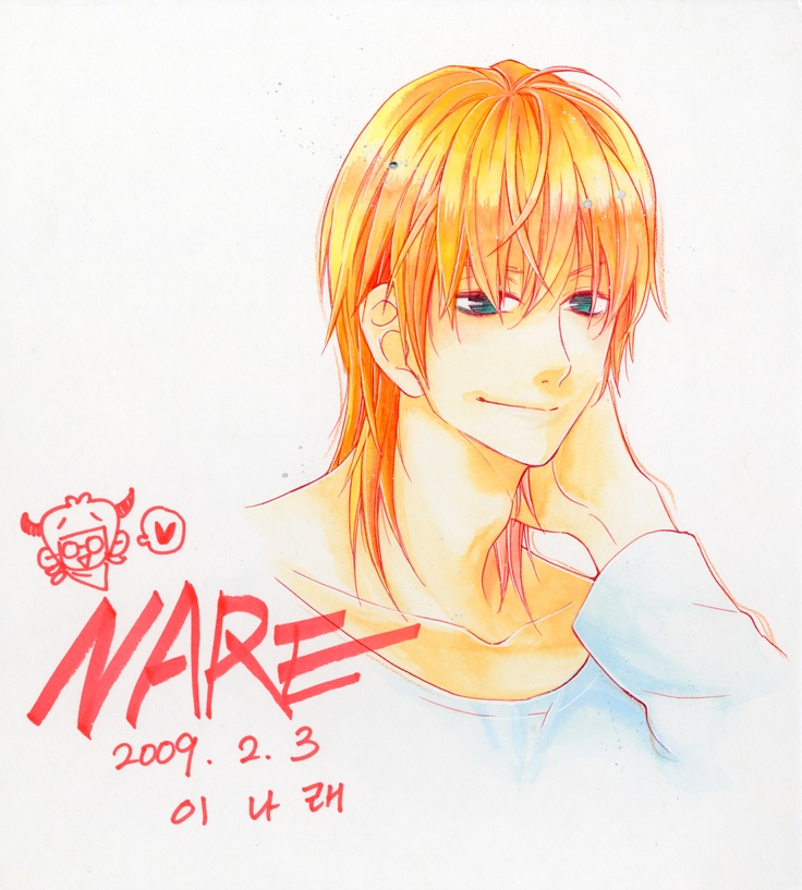 Character design for Iggy, of the Maximum Ride manga series.