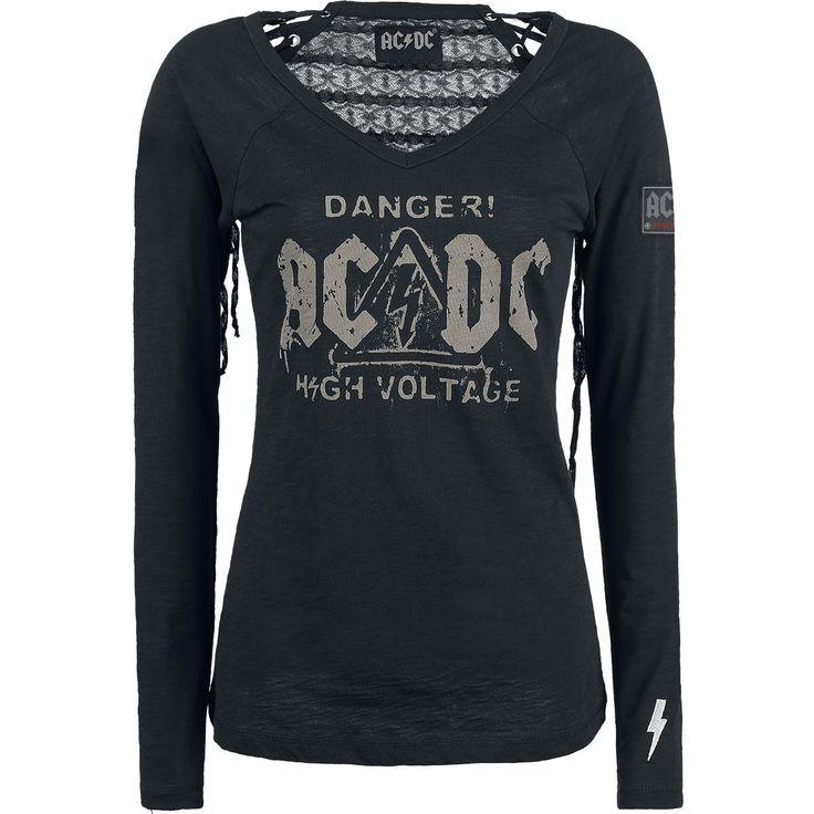 Danger! - High Voltage - T-shirt manches longues par AC/DC
