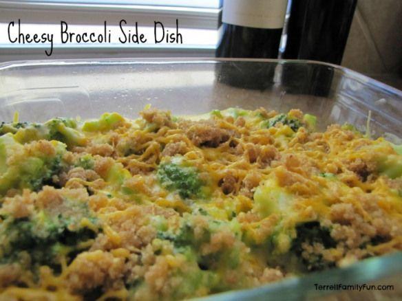 cheesy broccoli side dish recipe