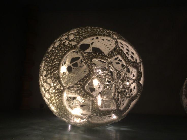 Ljusboll | malinenros.com. gratis mönster på svenska. virkning