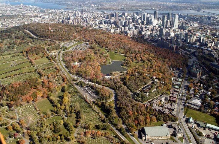 Parc du Mont Royal, Montreal, Quebec, Canada