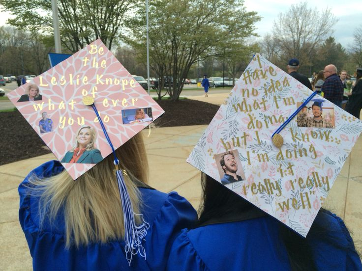 Parks and recreation graduation caps | Graduation cap
