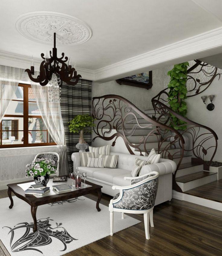 Barock Möbel im stilvollen Mix von Wohnstilen
