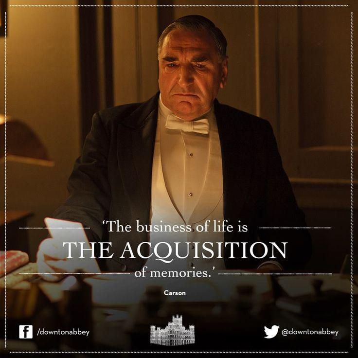 Simply June: Downton Abbey Quotes -- Mr. Carson