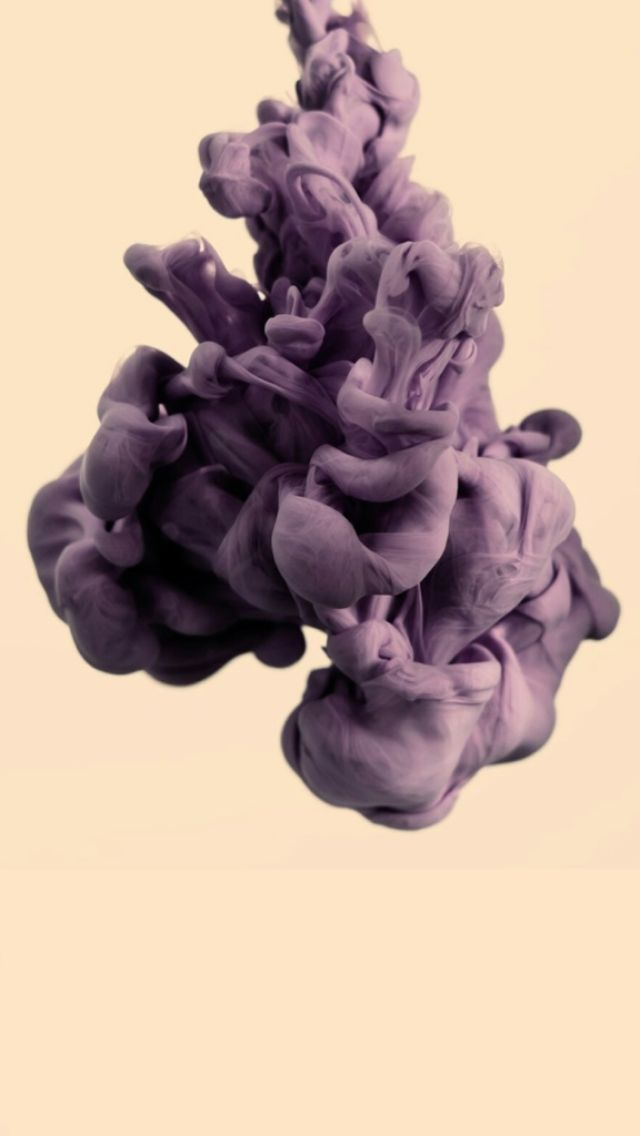 Purple Liquid Smoke iPhone 5 Wallpaper