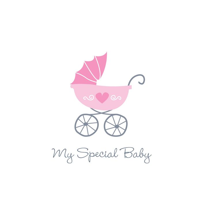Baby logo suitable for baby clothing, toy and products. by Esani on Etsy