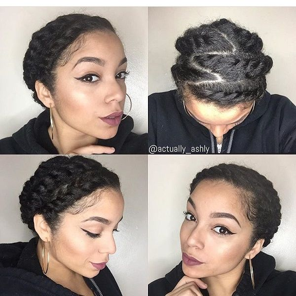 Protective Hairstyles For Short Natural Hair 43 Best Hair Images On Pinterest  African Hairstyles Natural Hair