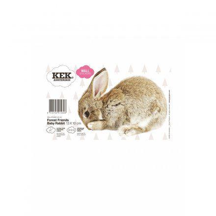 KEK Amsterdam Wandtattoo Baby Hase online kaufen ➜ Bestellen Sie Wandtattoo Baby Hase für nur 6,95€ im design3000.de Online Shop - versandkostenfreie Lieferung ab 50€!