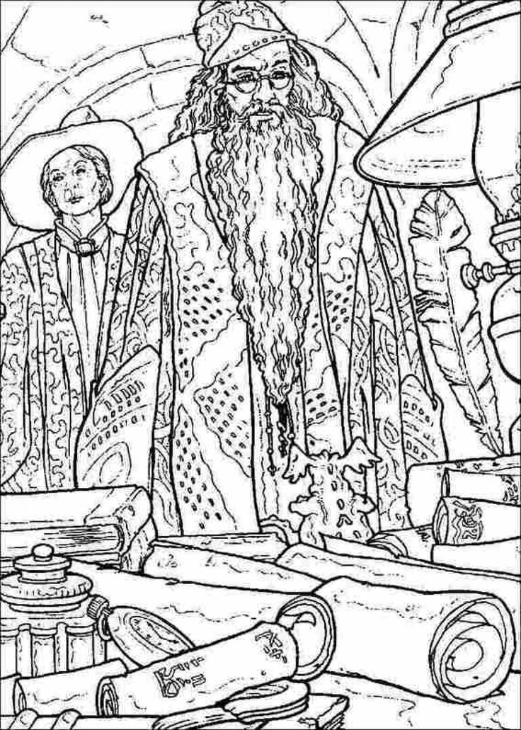 Harry Potter Printable Coloring Pages 49