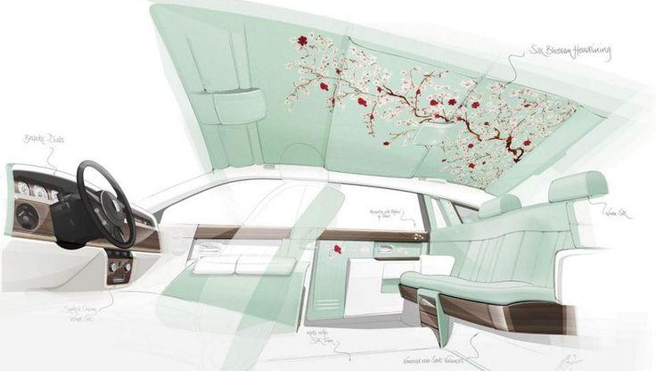 Rolls-Royce Phantom Serenity, con la seda como protagonista - http://www.actualidadmotor.com/rolls-royce-phantom-serenity-con-la-seda-como-protagonista/