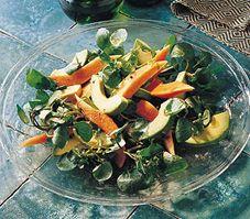 Salade tropicale à la lime