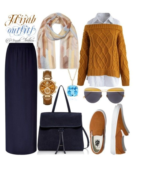 """#Hijab_outfits"" by mennah-ibrahim on Polyvore featuring Escada Sport, Chicwish, Madewell, Mansur Gavriel, Laura Ashley, Michael Kors, Belk & Co. and Sunday Somewhere"