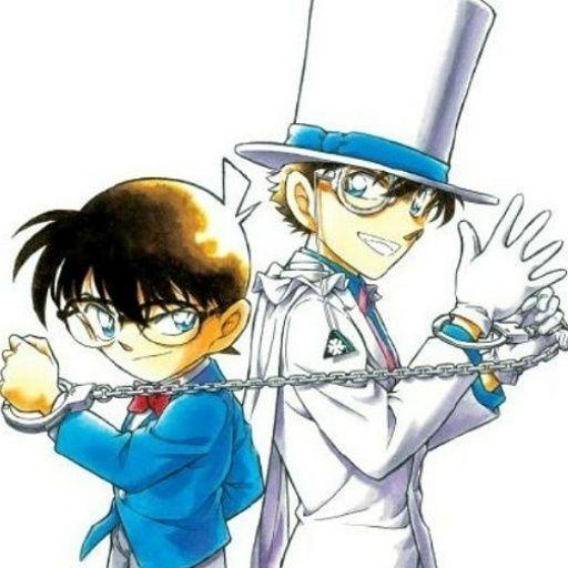 Conan Edogawa & Kaito Kid