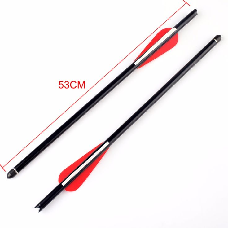 """NEW 12Pcs 20"""" Crossbow Bolts Aluminum Arrow for Hunting Target Practice Archery"""
