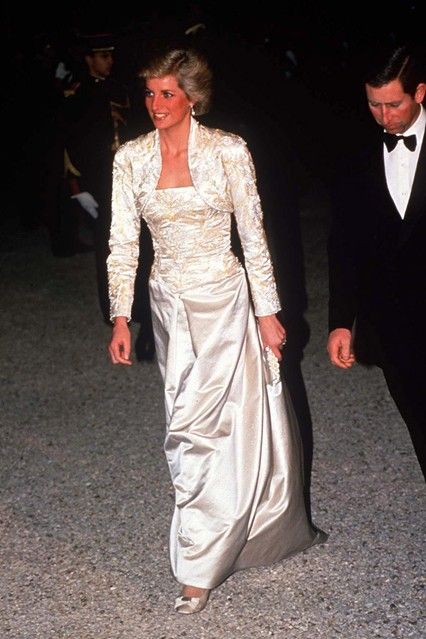 See Diana, Princess of Wales', fashion and style cloices over the years on VOGUE.COM