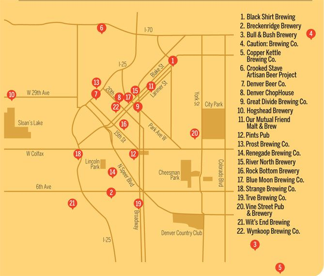 The Ultimate Guide to Craft Brewing in Denver | 5280 ~ Yeah Buddy! World In Four Days A Travel & LifeStyle Blog www.worldinfourdays.com
