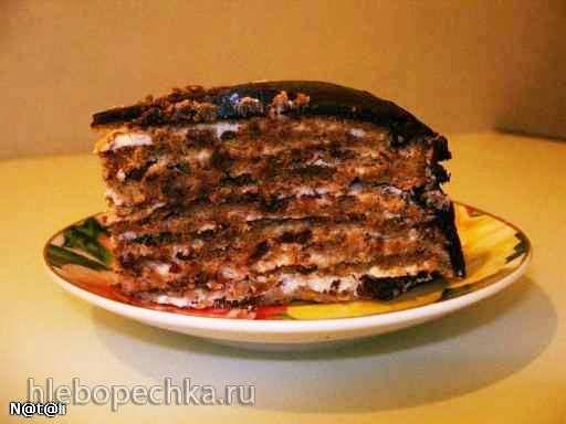 """торт """"Итальянский ореховый"""""""