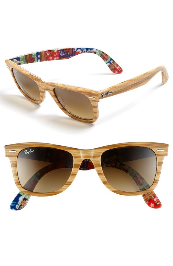 Natural beauty: wooden sunglasses are trending
