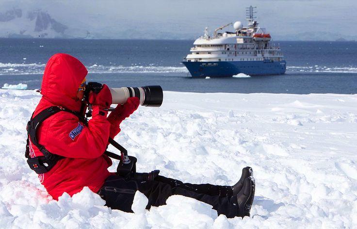 Navire de croisière Sea Spirit de Poseidon, le leader des croisières en brise-glace - croisière en Antarctique