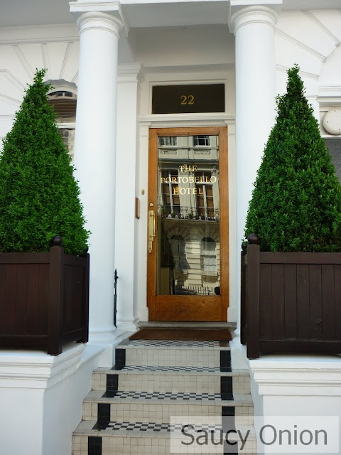 The Portabello Hotel, Notting Hill is kind of like stepping through the looking glass