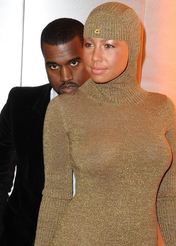 Amber Rose Fires Back at Kanye West on Twitter Amber