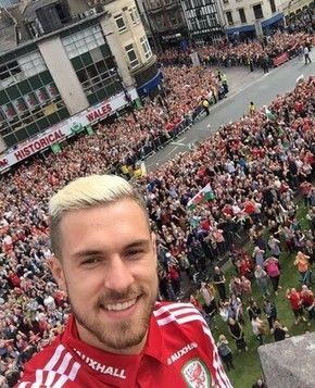 Ramsey País de Gales (Foto: Reprodução/Twitter)