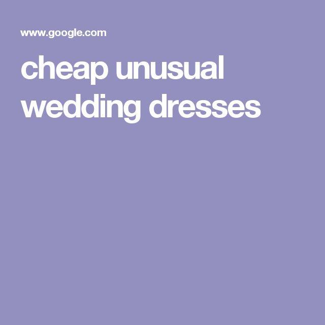 cheap unusual wedding dresses