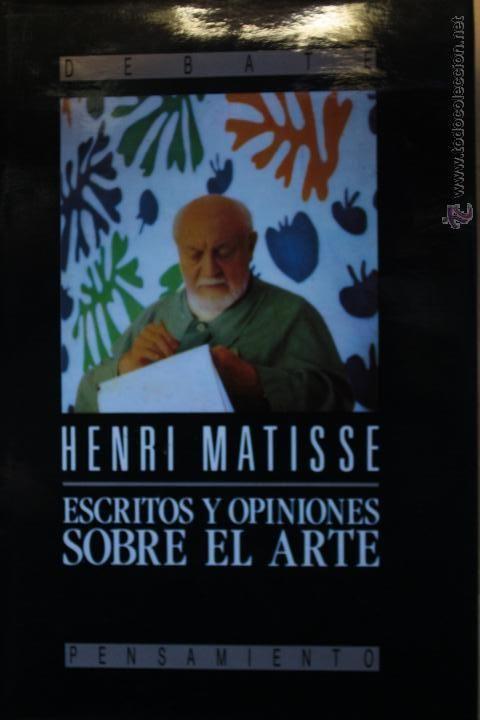 Al igual que otros pintores de vanguardia, Matisse no sólo dejó un legado fundamental para el devenir del arte como pintor, sino también como escritor. En esta edición se recogen los pensamientos, reflexiones, comentarios y teorías de Matisse sobre la pintura. Textos que conforman su doctrina y que explican sus ideas sobre el oficio del pintor o la tensión entre la línea y el color. Un documento imprescindible para comprender la obra de Matisse, uno de los grandes genios de la pintura del…