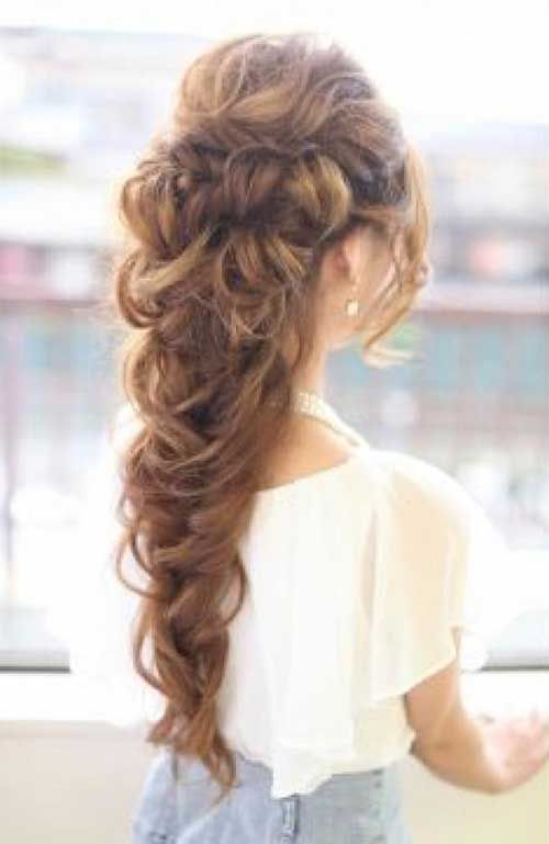 Prom Updos for Long Hair