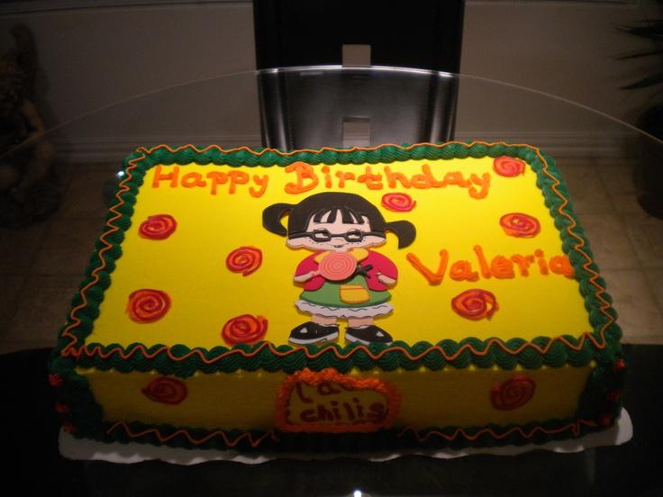 la chilindrina cake