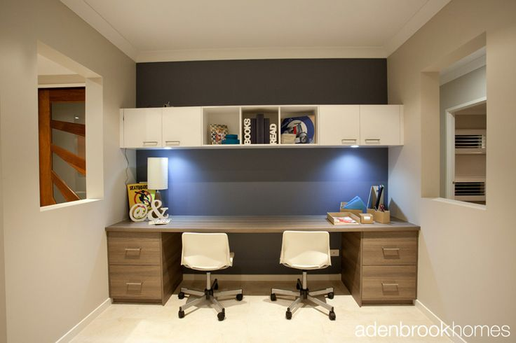 Drawers make study nook even more practical.