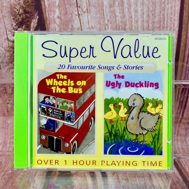 20 Favourite Songs & Stories Kids Children's Cd  ugly duckling wheels on the bus