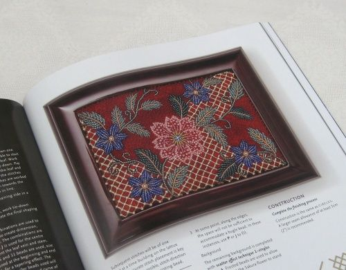 A book review of Margaret Lee's 'Art of bead embroidery' is on my blog - click to read it now!