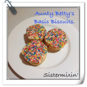 Kiss Biscuits {Thermomix}