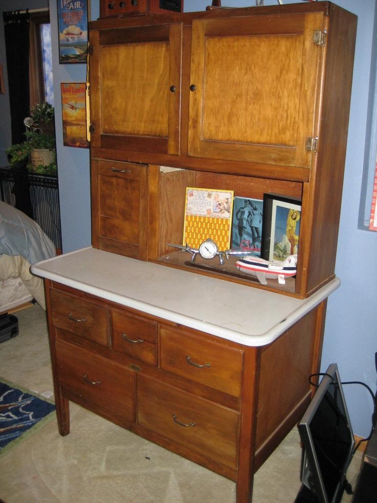 1900's Hoosier Kitchen Cabinet. | Remodel-Kitchen